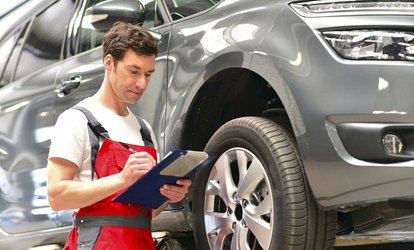 £32.50 for Vehicle MOT with Interim Service at Bleakhall Motors (54% Off)