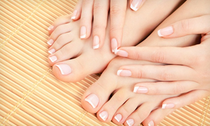 All Hands On Deck Massage & Nail Spa - Kiwanis Park: One or Two Gelish Manicures and Classic Pedicures at All Hands On Deck Massage & Nail Spa (Up to 58% Off)