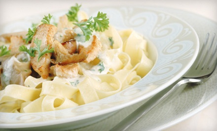 Dinner for Two or Four at Tiffany Italian Mediterranean (Half Off)