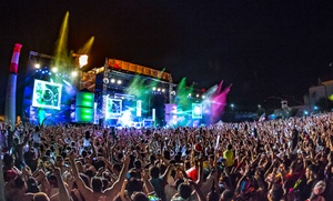 Life in Color: Life in Color Big Bang World Tour on Saturday, September 19, at 6 p.m.