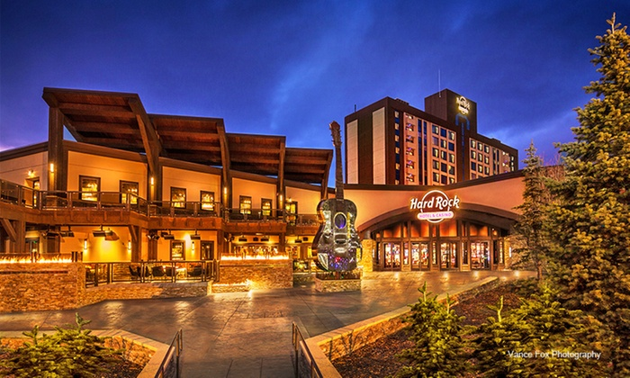 Hard Rock Hotel & Casino with Optional Dining Credit near Lake Tahoe