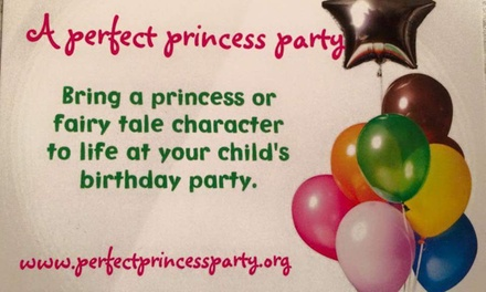 Up to 53% Off Princess Party at A Perfect Princess Party