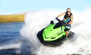 Jet Ski Renting: Weekday or Any-Day Jet Ski Rental for Two from Jet Ski Renting (Up to 34% Off)