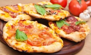 Justinos Pizza: $1 Buys You a Coupon for Free 20oz Soda With Purchase Of Any 2 Speciality Slices at Justinos Pizza