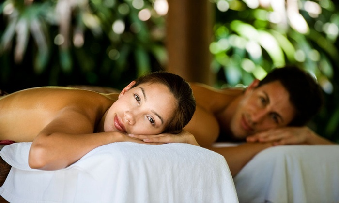 Health & Beauty for Life - Landmark - Van Dorn: $129 for 50-Minute Couples Massage with Chocolate at Health & Beauty for Life ($233 Value)