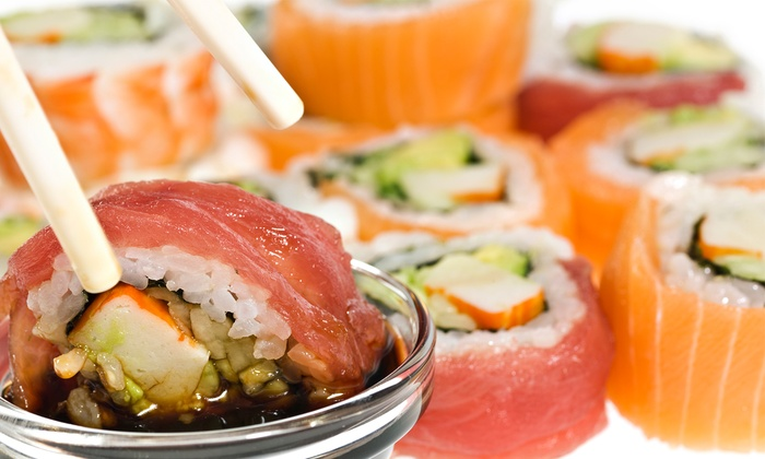 Blue Fin Sushi Bar - Wicker Park: Asian Food and Sushi for Dinner Sunday–Wednesday or Any Day at Blue Fin Sushi Bar (50% Off)
