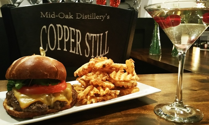 Copper Still - Crestwood: Dinner and a Drink at Copper Still (Up to 38% Off)