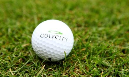 Golf-Platzreife nach DGV-Richtlinien mit Golftrainer für 1 oder 2 Personen bei GolfCity Pulheim (bis zu 78% sparen*)
