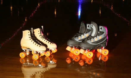 Admission for Three, or Admission for One, Three, or Six with Skate Rental at Sunrise Rollerland (Up to 48% Off)