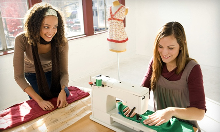 The Fashion Class - Midtown South Central: Introduction to Fashion Sewing Class for Kids Aged 6–13 or 14–18 at The Fashion Class (53% Off)