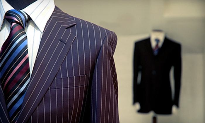Lord's of London - Wellesley: $599 for a Bespoke Two-Piece Suit and Shirt with Silk Tie from Lord's of London (Up to $1,703 Value)
