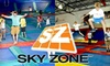 Sky Zone - Whitney: $11 for Two One-Hour Open Jumping Passes and Shoe Rentals at Sky Zone ($22 Value)