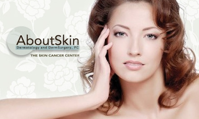 AboutSkin Dermatology - Multiple Locations: $59 for Glowing Chemical Peel of the Face, Chest, or Back at AboutSkin Dermatology ($180 Value)