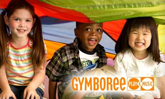 Gymboree Play & Music - Multiple Locations: $39 for One Month of Classes, Open-Gym Access, and Enrollment Fee at Gymboree Play & Music ($105 Value)