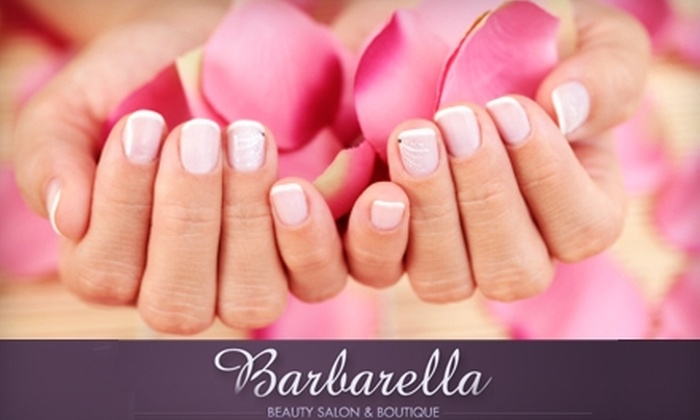 Barbarella Beauty - Willow Glen: $25 for a Barb's Paradise Manicure and Pedicure at Barbarella Beauty ($50 value)