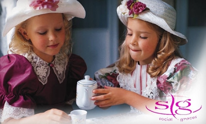 Social Graces School of Etiquette - Southwest Topeka: $130 for an Eight-Week Children's Etiquette Class at Social Graces School of Etiquette ($265 Value)