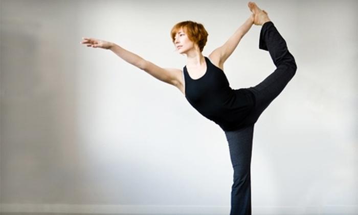 Premier Pilates & Yoga - New Rochelle: $35 for Three Yoga or Pilates Mat Classes at Premier Pilates & Yoga in New Rochelle ($75 Value)