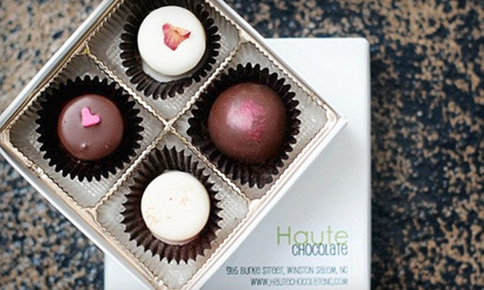 Haute Chocolate  - West End,South Central,Downtown: One or Two Boxes of Handmade Chocolates at Haute Chocolate in Winston-Salem (Up to 54% Off)