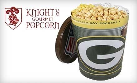 $10 Groupon to Knights Gourmet Popcorn - Knights Gourmet Popcorn in Milwaukee