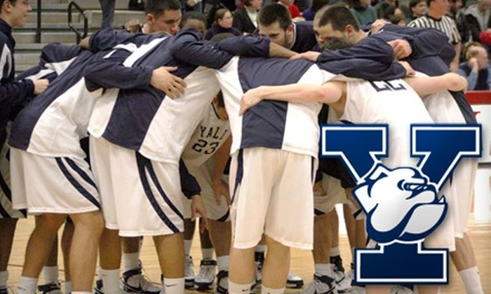 Yale Basketball - Downtown: $8 for Two Tickets to a Yale Men's Basketball Game Plus Two Tickets to Any Yale Women's Basketball Home Game (Up to $26 Value). Choose from Two Men's Basketball Dates