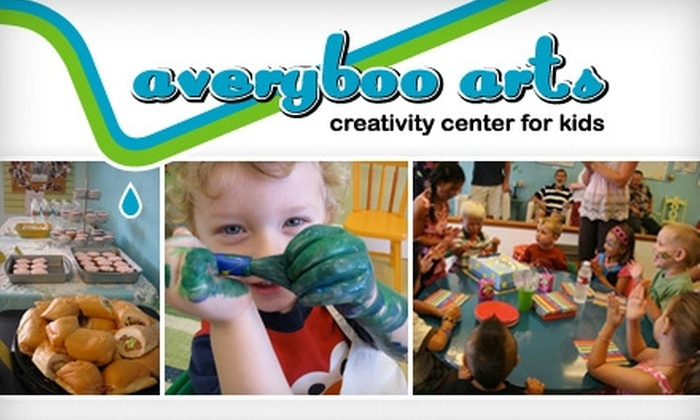 Averyboo Arts - Cal Heights/Bixby Knolls/Los Cerritos: $10 for Kids' Open Studio Time ($20 Value) or $112 for a Birthday Party ($225 Value) at Averyboo Arts in Long Beach
