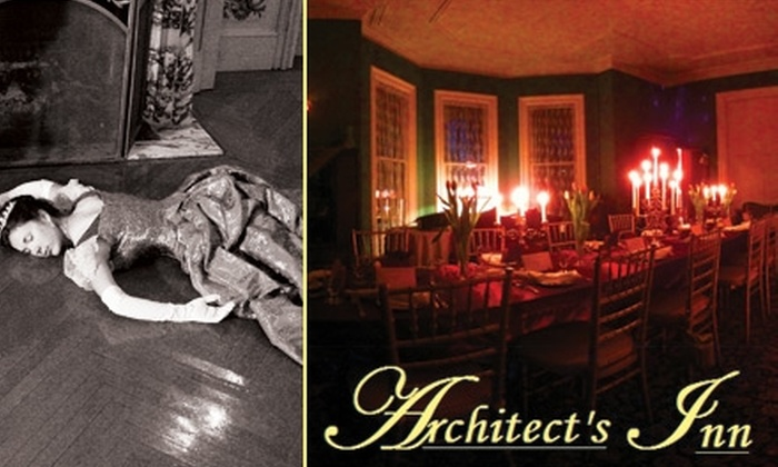 Architect's Inn - Newport: $265 for a Two-Night, All-Inclusive Stay for One Person During Murder-Mystery Weekend at Architect's Inn ($675 Value)