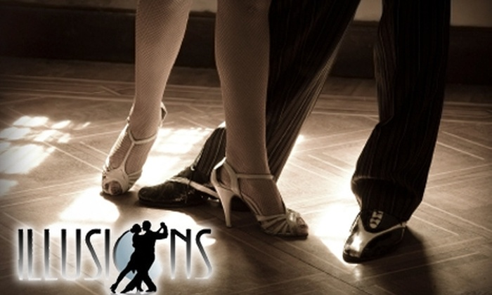 Illusions Ballroom Dance Academy - Grand Rapids: $20 for One Private Lesson, Two Group Lessons, and Two Party Passes at Illusions Ballroom Dance Academy ($100 Value)