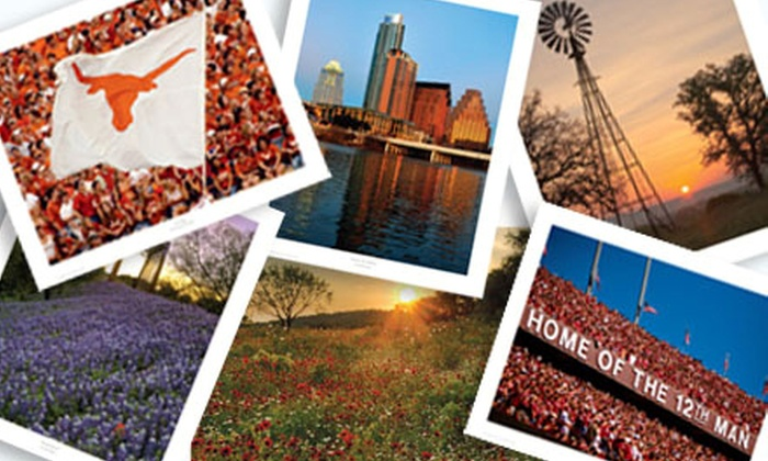 Deep In The Art of Texas: One or Three Texas-Scenery Print Packages with Color Prints and Postcards from Deep in the Art of Texas (Up to 58% Off)