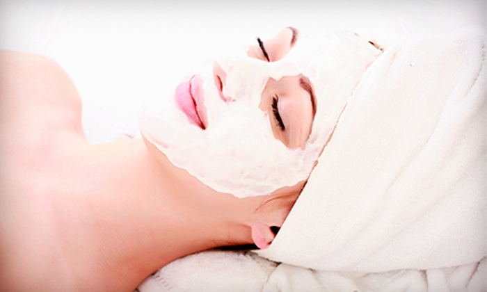 Aimee Hair Salon and Day Spa - Forest Hills: $49 for a Skincare Package with Mask and Diamond Microdermabrasion at Aimee Hair Salon and Day Spa in Forest Hills ($270 Value)