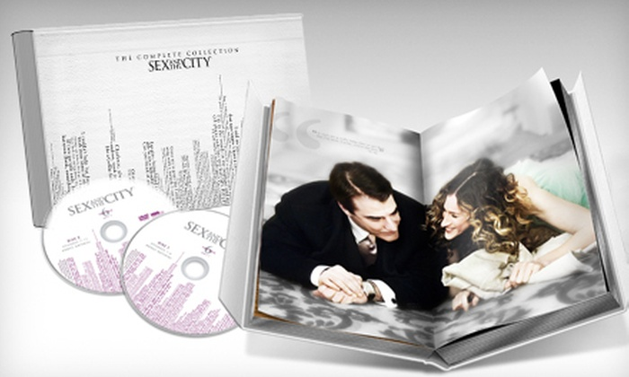 Sex and the city dvd collection