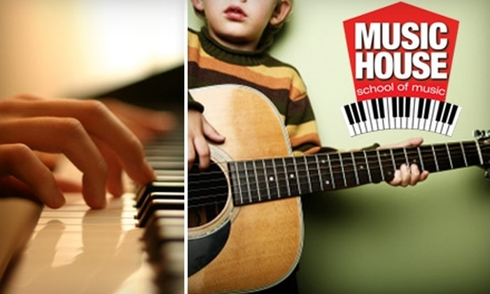 Music House School of Music - Blue Valley: $49 for a Semester of Beginner Guitar or Piano Small-Group Classes at Music House School of Music in Overland Park