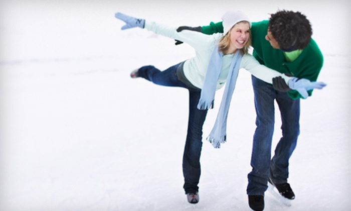 The Gardens Ice House - West Laurel: Ice-Skating Outing for Two or Four or a 10-Session Skating Pass at The Gardens Ice House in Laurel (Up to 54% Off)