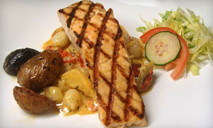 La Barrique - Midtown South Central: $49 for a Three-Course French Dinner for Two at La Barrique (Up to $113.70 Value)