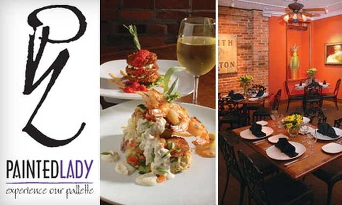 The Painted Lady - Norfolk: Upscale Cuisine and Drinks at The Painted Lady in Norfolk (Up to $50 Value). Choose from Afternoon Tea, Lunch or Brunch, or Dinner.