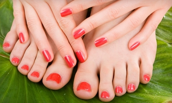 Body Works Salon & Day Spa - Midtown: $25 for a Mani-Pedi ($55 Value) or $70 for a Haircut and Color ($140 value) at Body Works Salon & Spa