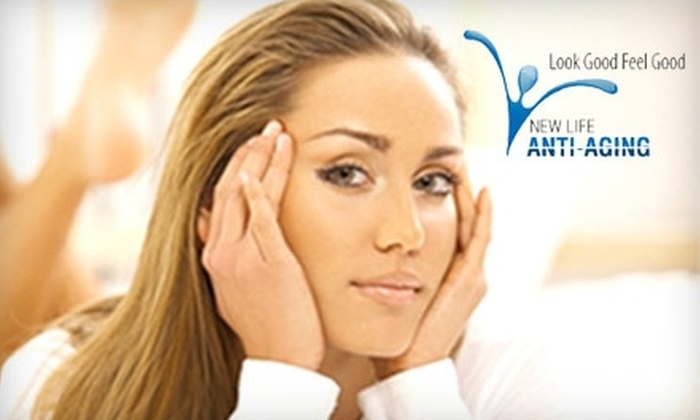 New Life Anti-Aging - Dayton: $25 for $50 Worth of Waxing Services at New Life Anti-Aging