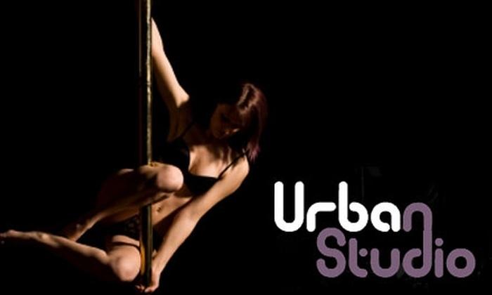 Urban Studio - Maxwell: $24 for Two Level-One Pole Classes at Urban Studio