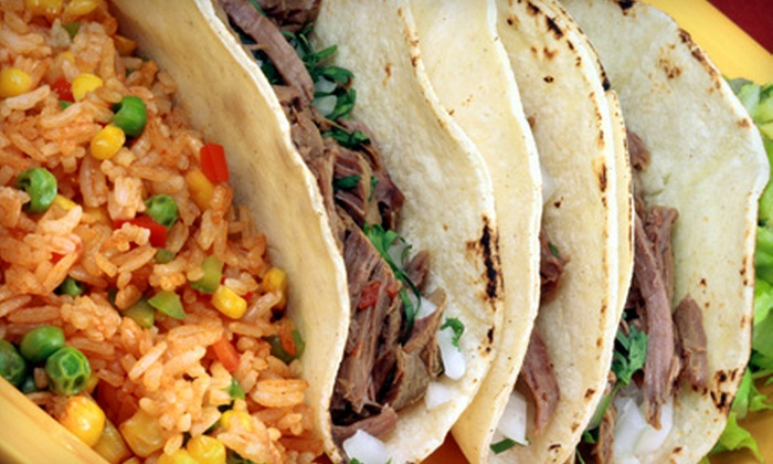 Pepitos Catering and Mexican Food - Orange: $16 for a Mexican Meal and Wine for Two at Pepitos Catering and Mexican Food in Orange (Up to $33.50 Value)