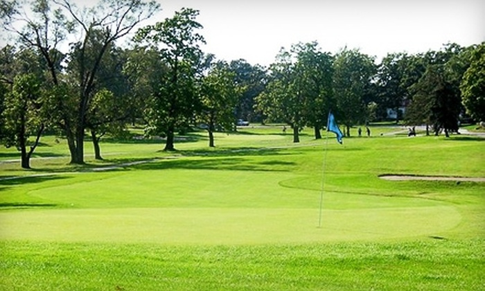 Lincoln Oaks Golf Course - Chicago: $49 for 18 Holes of Golf for Two Plus Cart and Large Bucket of Range Balls at Lincoln Oaks Golf Course in Crete (Up to $104 Value)