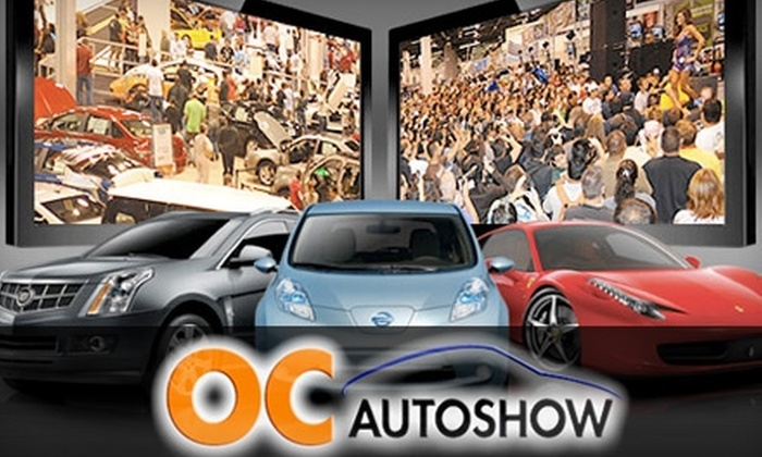 OC Auto Show, produced by Motor Trend - Convention Center: $5 for One Ticket to OC Auto Show, Produced by Motor Trend, at the Anaheim Convention Center