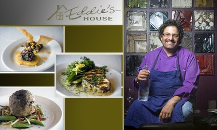 Eddie's House - Downtown Scottsdale: $25 for Mediterranean-Inspired Tastes at Eddie's House