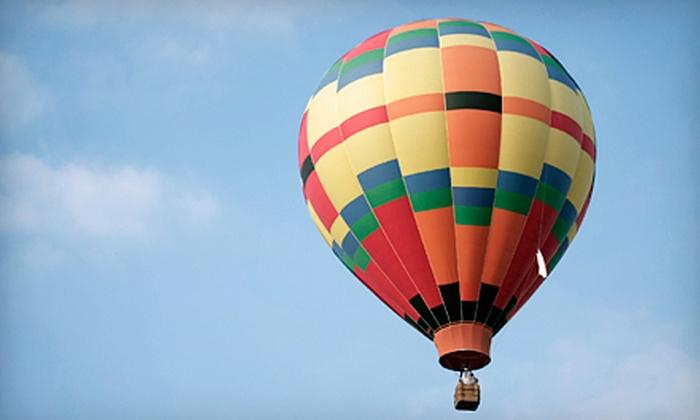 Balloons Over Virginia, Inc. - Ashland: $299 for a Hot Air Balloon Flight for Two from Balloons Over Virginia, Inc. in Ashland ($500 Value)