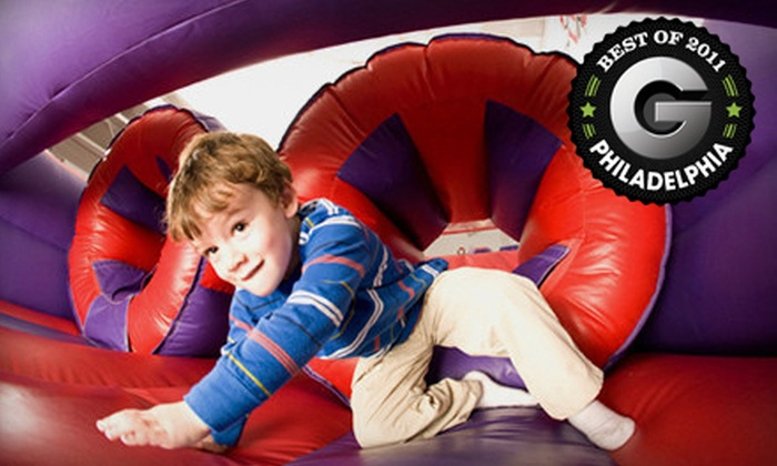 BounceU - Multiple Locations: 5 or 10 Open-Bounce Visits at BounceU (Up to 56% Off). 10 Options Available.