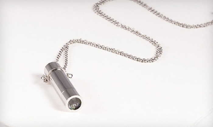 Liquidation Channel: $14 for a Genuine Gemstone Kaleidoscope Necklace ($60 List Price). Free Shipping.