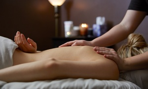 Massage & Makeup: Deep-Tissue or Aromatherapy Massage for Individual or Couple at Massage & Makeup (Up to 61% Off)