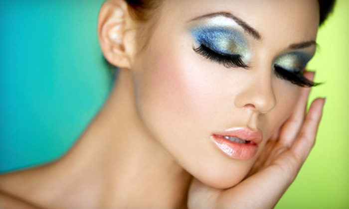 Esthetic Center - Multiple Locations: Two, Four, or Eight Eyelash-Tinting Sessions at Esthetic Center (Up to 58% Off)