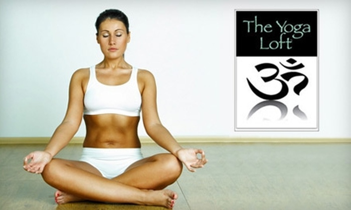 The Yoga Loft - Wilmington: $29 for Five Classes (Up to $70 Value) or $39 for One Month of Unlimited Classes at The Yoga Loft (Up to $100 Value)