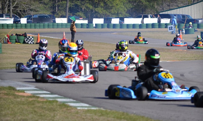 Carolina Motorsports Park - Kershaw: Three or Six 10-Minute Racing-Kart Sessions at Carolina Motorsports Park in Kershaw