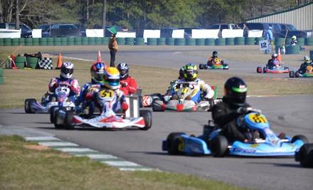 3 10-Minute Racing-Kart Sessions (a $60 value) - Carolina Motorsports Park in Kershaw
