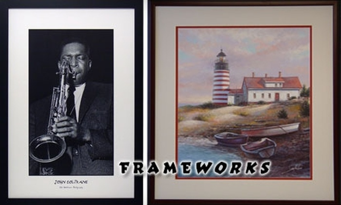 Frameworks - Cleveland: $30 for $70 Worth of Custom Frames and Framed Pictures from Frameworks